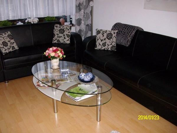 Glastisch kaufen gebraucht und g nstig for Wohnzimmertisch oval