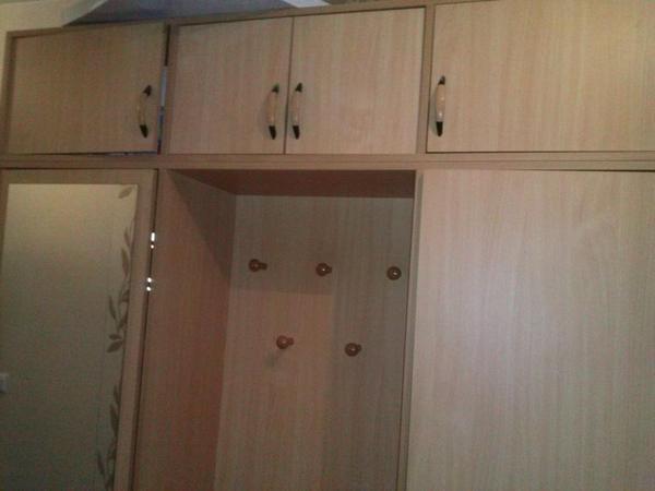 gro e garderobe mit spiegel extra klein regal in speyer. Black Bedroom Furniture Sets. Home Design Ideas