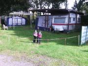 Großer Campingplatz am