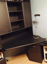 Großer Schreibtisch (schwarz)