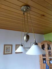 Hänge- Esstischlampe + Stehlampe