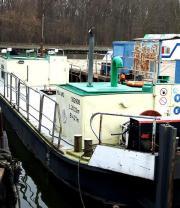 Hausboot, Wohnschiff, Decksprahm