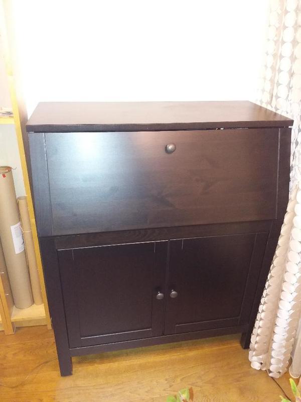 hemnes schwarzbraun kaufen gebraucht und g nstig. Black Bedroom Furniture Sets. Home Design Ideas