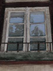 Historische Sprossenfenster und