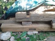 Historisches Fachwerkholz (Eiche)