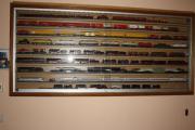 HO-Eisenbahnvitrine