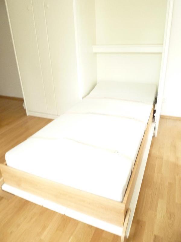 dieses schrankbett ist neuwertig da es nie zum einsatz. Black Bedroom Furniture Sets. Home Design Ideas