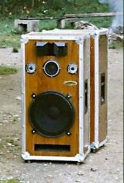 Hochwertige Lautsprecher PA