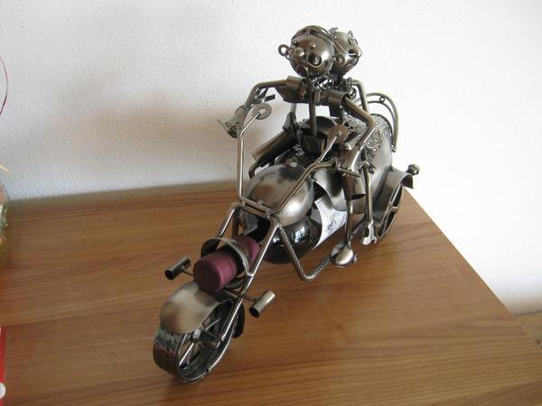 Hochzeitsgeschenk metall motorrad in hohenems for Dekoartikel metall