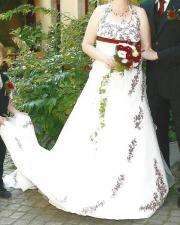 Hochzeitskleid Bordeaux Kaufen  Gebraucht und Günstig