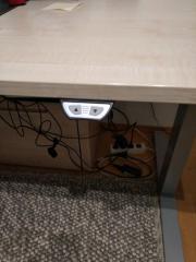 Höhenverstellbarer Schreibtisch LEUWICO