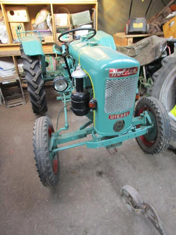 Holder B10 » Traktoren, Landwirtschaftliche Fahrzeuge