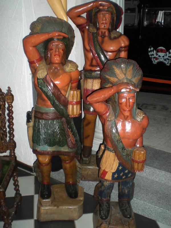 Holz indianer holzstamm in rudersberg dekoartikel for Holz dekoartikel
