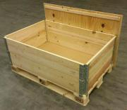 Holzlager Lagerkiste Brennholz