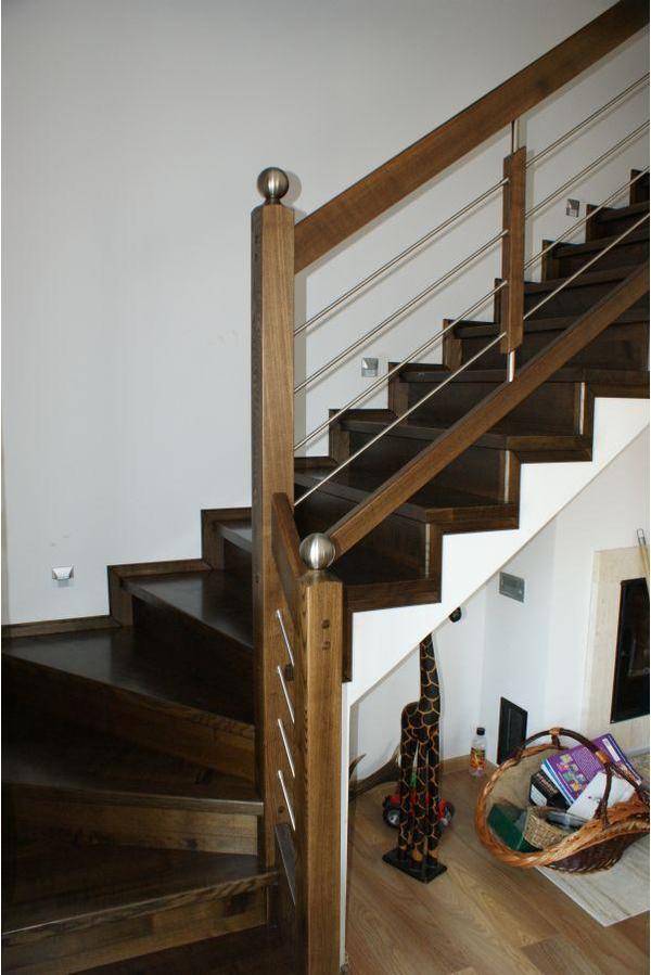 holz holztreppe bekleidung der betontreppe oder gel nder. Black Bedroom Furniture Sets. Home Design Ideas