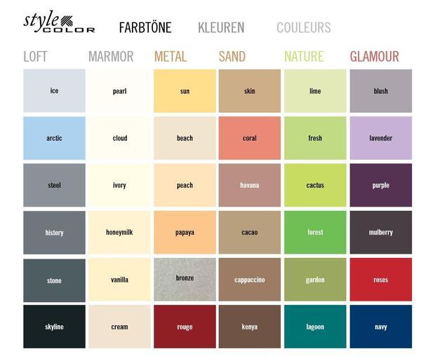 hornbach style color graue farbe 39 history 39 2 5 liter. Black Bedroom Furniture Sets. Home Design Ideas