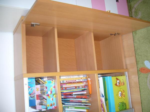 h lsta now sideboard buche mit glast r in bad homburg wohnzimmerschr nke anbauw nde kaufen. Black Bedroom Furniture Sets. Home Design Ideas