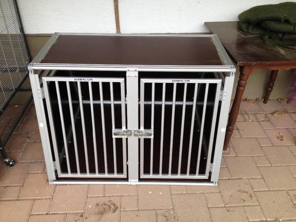 hundebox doppelbox transportbox schmidt in tegernau. Black Bedroom Furniture Sets. Home Design Ideas