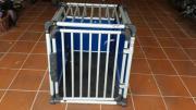 Hundetransportbox 4pet Aluminium