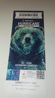 Hurricane 2017 Kombiticket+++
