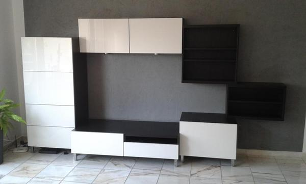 ikea wohnwand hochglanz interessante ideen f r die gestaltung eines raumes in. Black Bedroom Furniture Sets. Home Design Ideas