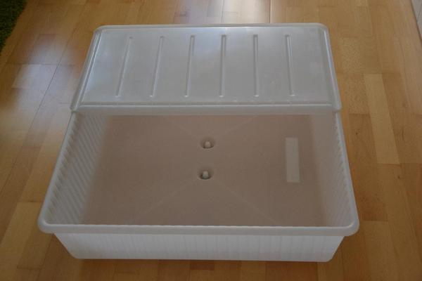 ikea dilling bettkasten in wei 77x70x20cm in waldbronn. Black Bedroom Furniture Sets. Home Design Ideas