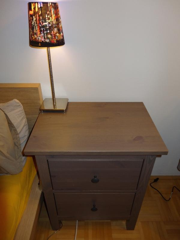 Kommode Dunkelbraun Gebraucht : Ikea hemnes kommode schwarzbraun ...