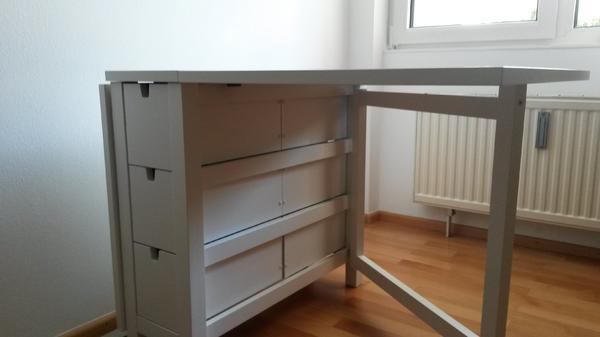 ikea klapptisch norden wei in m nchen ikea m bel kaufen und verkaufen ber private kleinanzeigen. Black Bedroom Furniture Sets. Home Design Ideas