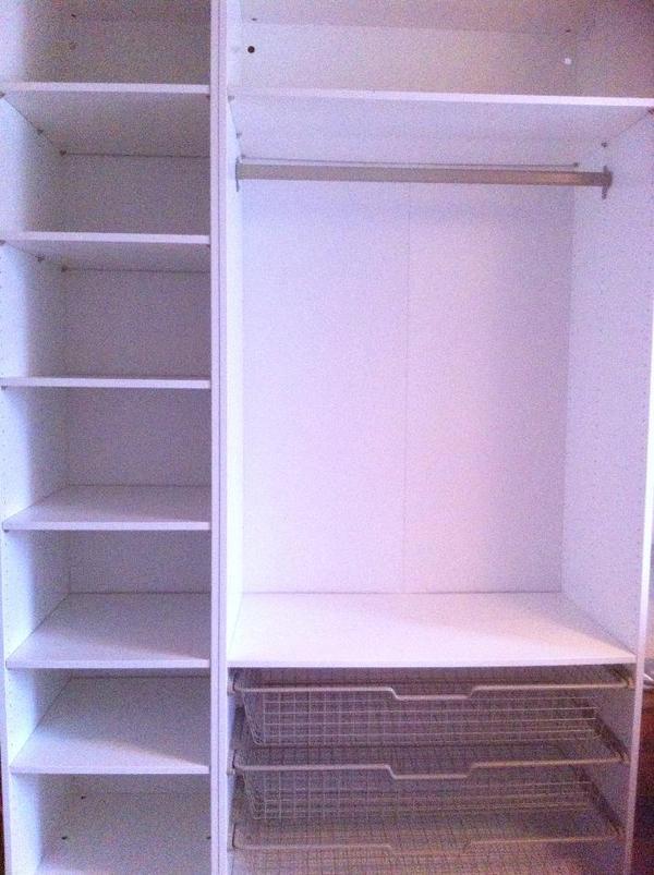 ikea pax kleiderschrank wei w neu in andernach ikea m bel kaufen und verkaufen. Black Bedroom Furniture Sets. Home Design Ideas