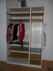 riesiger begehbarer eckkleiderschrank von ikea in. Black Bedroom Furniture Sets. Home Design Ideas