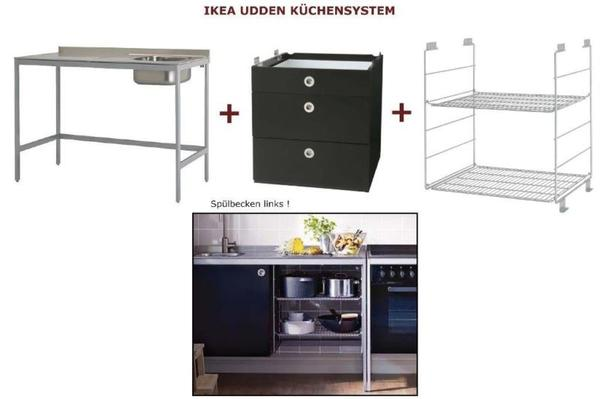 ikea udden k chensystem k chenschrank k chensp le k chenm bel in darmstadt k chenzeilen. Black Bedroom Furniture Sets. Home Design Ideas