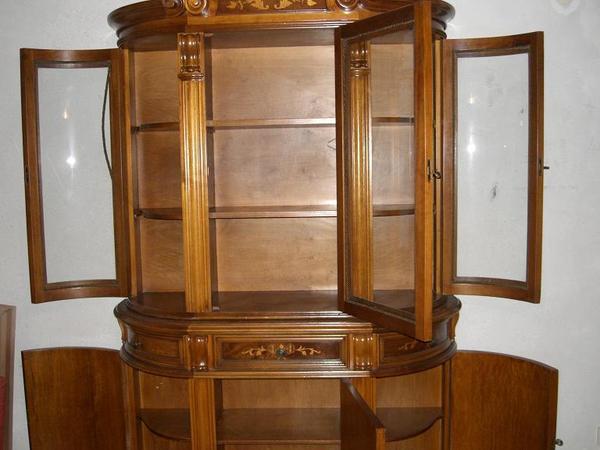 italienische barock vitrine in ubstadt weiher stilm bel bauernm bel kaufen und verkaufen ber. Black Bedroom Furniture Sets. Home Design Ideas