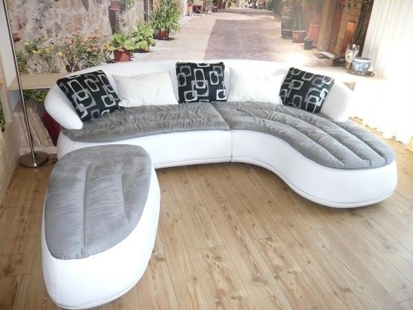 italienisches designer ecksofa echt leder von niere. Black Bedroom Furniture Sets. Home Design Ideas