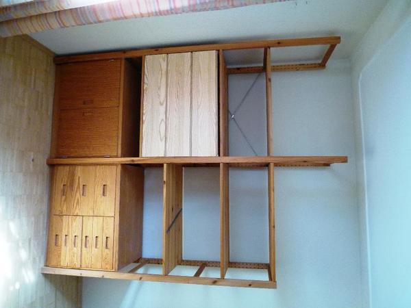 ivar regalteile mit kommode und 2 schr nken in heddesheim ikea m bel kaufen und verkaufen ber. Black Bedroom Furniture Sets. Home Design Ideas