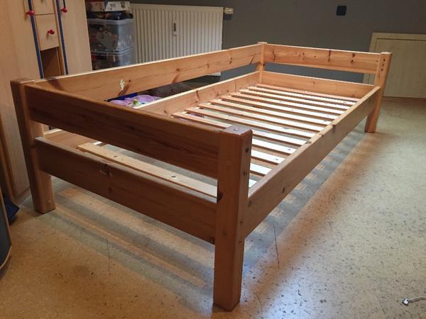 bett kiefernholz neu und gebraucht kaufen bei. Black Bedroom Furniture Sets. Home Design Ideas