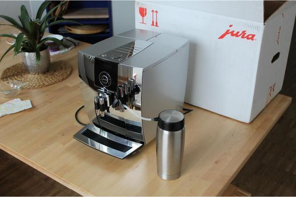 jura impressa j9 onetouch chrom in neresheim kaffee. Black Bedroom Furniture Sets. Home Design Ideas