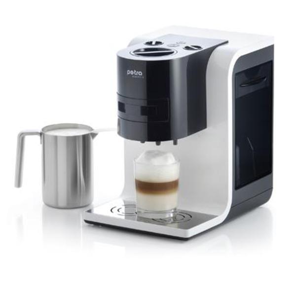 kaffee pad automat km 45 mit milchaufsch umer in frankfurt kaffee espressomaschinen kaufen. Black Bedroom Furniture Sets. Home Design Ideas