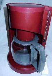 Kaffeemaschine ismet - weinrot -