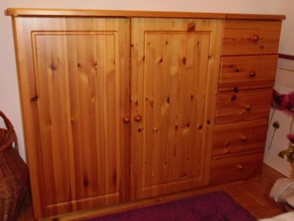 Schr nke vitrinen m bel wohnen gebraucht kaufen for Holzschrank massiv gebraucht