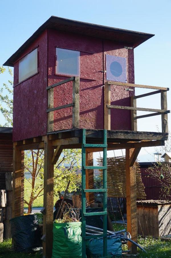 kinder baumhaus in klaus sonstiges kinderspielzeug kaufen und verkaufen ber private. Black Bedroom Furniture Sets. Home Design Ideas