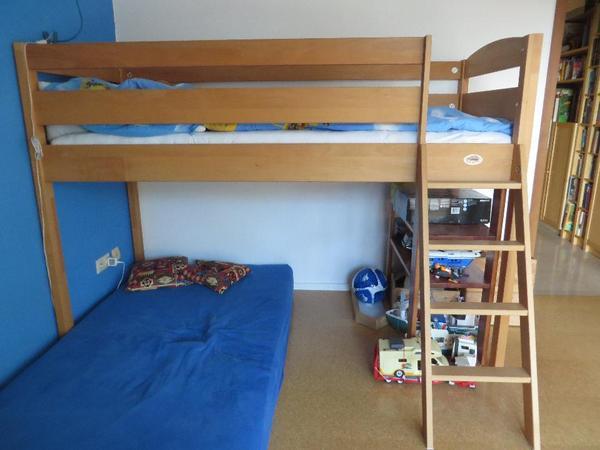 hochbett massiver neu und gebraucht kaufen bei. Black Bedroom Furniture Sets. Home Design Ideas