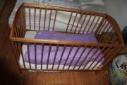 Kinderbett Buche 120x60