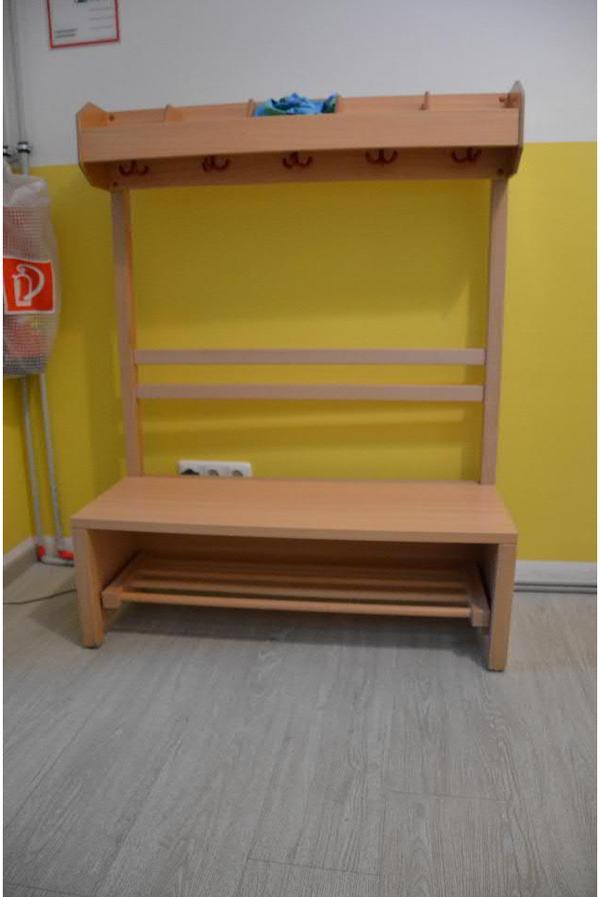 Kindergartengarderobe buchefarben in m nchen kinder for Jugendzimmer quoka