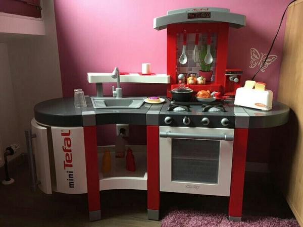 Smoby tefal kaufen gebraucht und gunstig for Kinderküche smoby