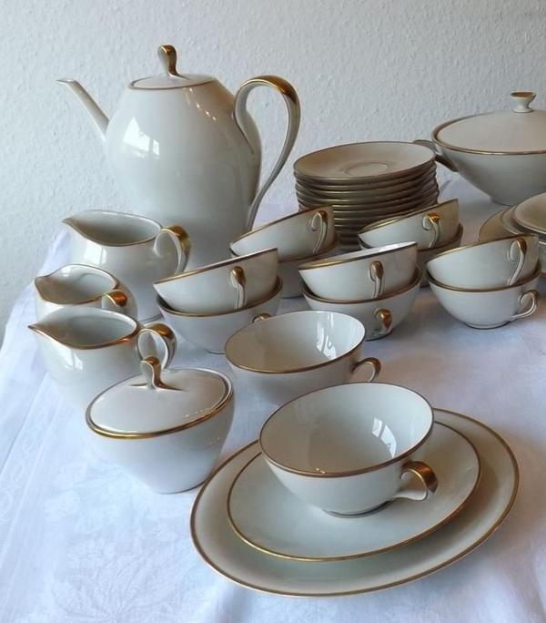klassisches original eschenbach bavaria porzellan service elfenbein kaffee und tee top in. Black Bedroom Furniture Sets. Home Design Ideas