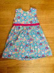 Kleid Sommerkleid blau