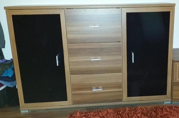 schwarz kommode neu und gebraucht kaufen bei. Black Bedroom Furniture Sets. Home Design Ideas