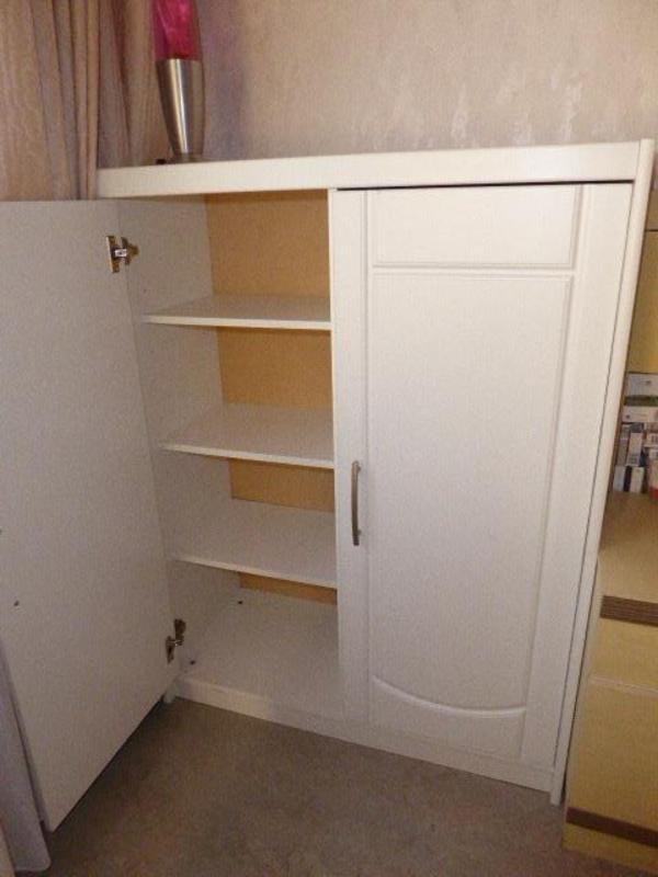 schuhschrank weiss neu und gebraucht kaufen bei. Black Bedroom Furniture Sets. Home Design Ideas