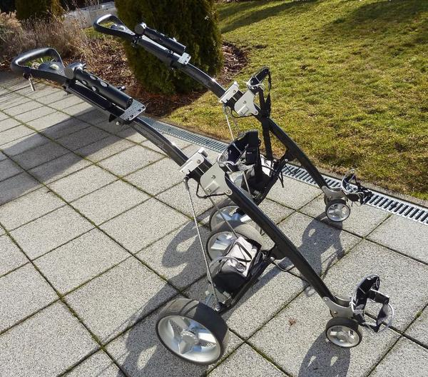 golf trolley neu und gebraucht kaufen bei. Black Bedroom Furniture Sets. Home Design Ideas