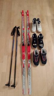 Komplette Langlaufausrüstung für